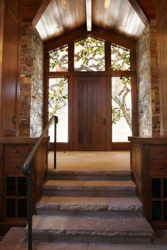 Craftsman Double Front Door