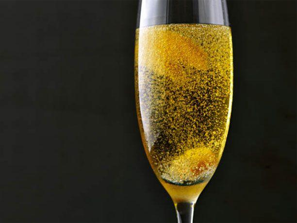 silvester rezept f r orange spiked champagner cocktail essen trinken pinterest silvester. Black Bedroom Furniture Sets. Home Design Ideas
