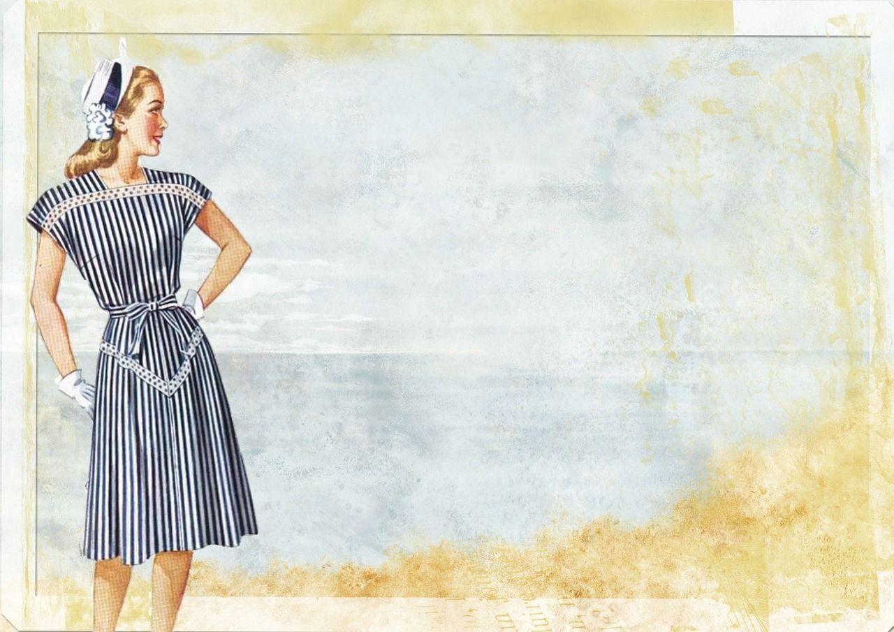 Free Image On Pixabay Vintage Lady Fashion Beauty Vintage Fashion Dresses For Less Vintage Images