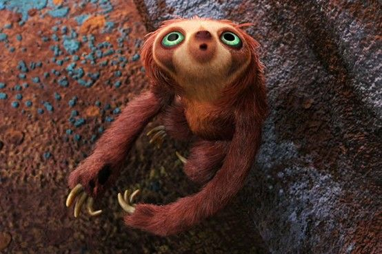 Whoever Decided To Put This Sloth Into The Movie Is A Genius I Will Buying All The Paraphernalia I Can Find Well Pla Animated Animals Cartoon Animals Animals