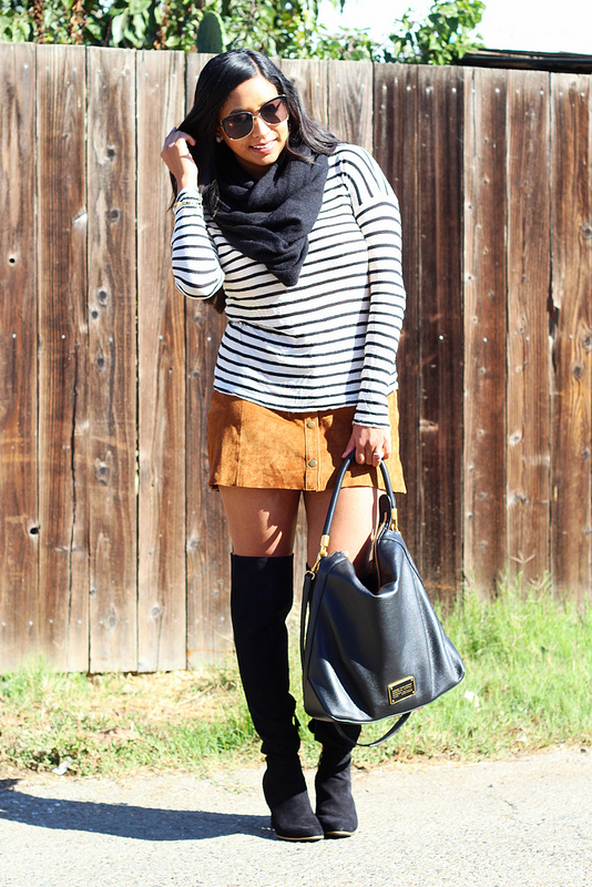 Stripes & Suede