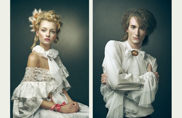 Victorian costumes, photo by Joanna Kustra