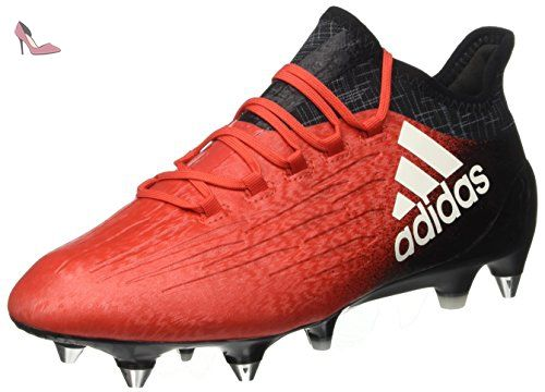 adidas F10 Traxion HG, Chaussures de football homme - Rouge - Rot (infrared/running white ftw/black 1), 41 1/3 EU
