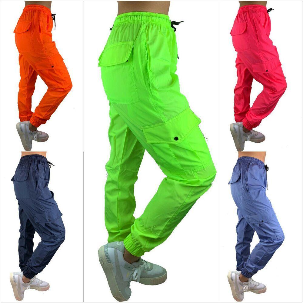 #Jogginghose #Frauen #NEON #5  unterschiedliche #Farben #FREIZEITHOSE  #FITNESS #S-XL  #100% Polyest...