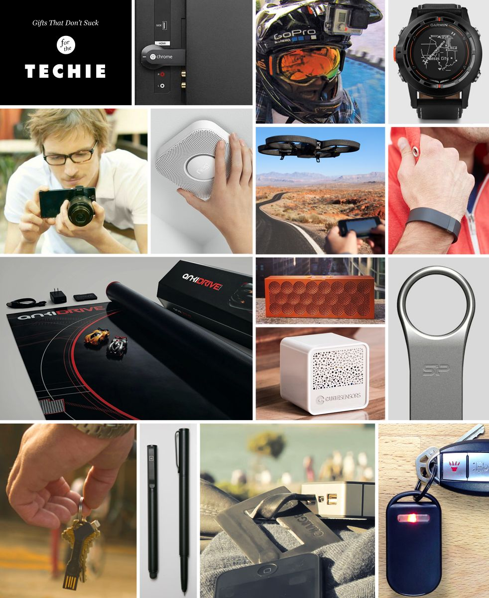 Holiday Gift Guide: The Techie | Gift Idea Articles | Pinterest ...