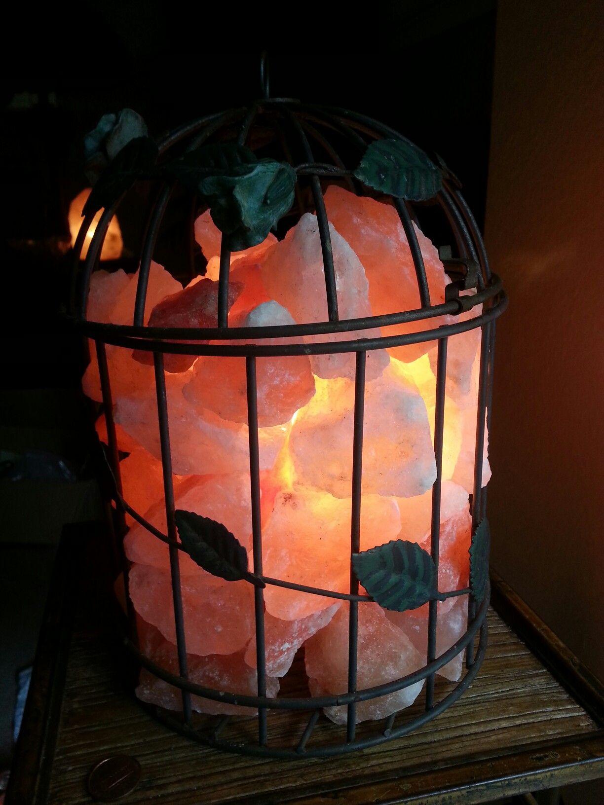 Himalayan Salt Lamp Baskets Old Bird Cage Himalayan Salt Lamp Basket Himalayan Salt Lamp Salt Lamp