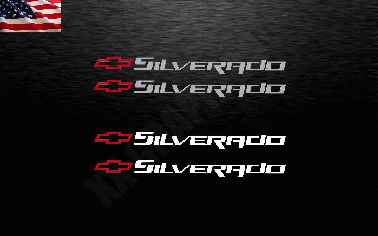 Chevy Silverado Chevrolet Logo Bowtie Decal Sticker Windshield