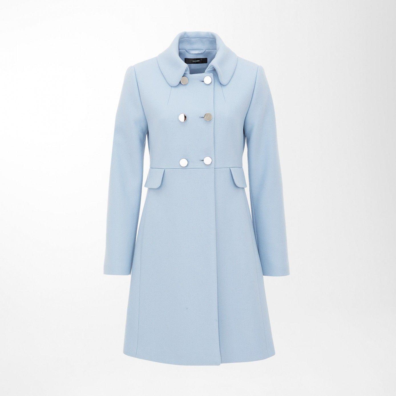 Treffen spätester Verkauf verschiedene Stile Retro mantel hellblau   Autumn clothes in 2019   Hallhuber ...