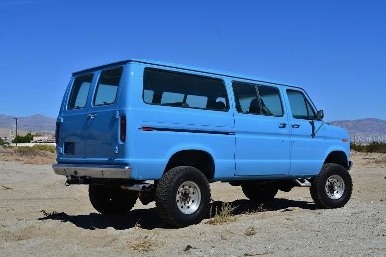 Ford E250 4x4 Off Road Lifted Van E Series