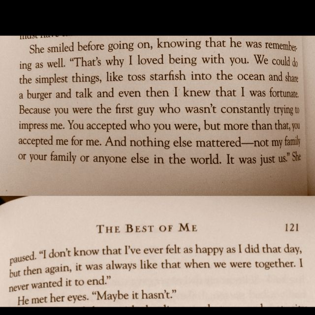 The Best Of Me By Nicholas Sparks Life Nicholas Sparks Quotes