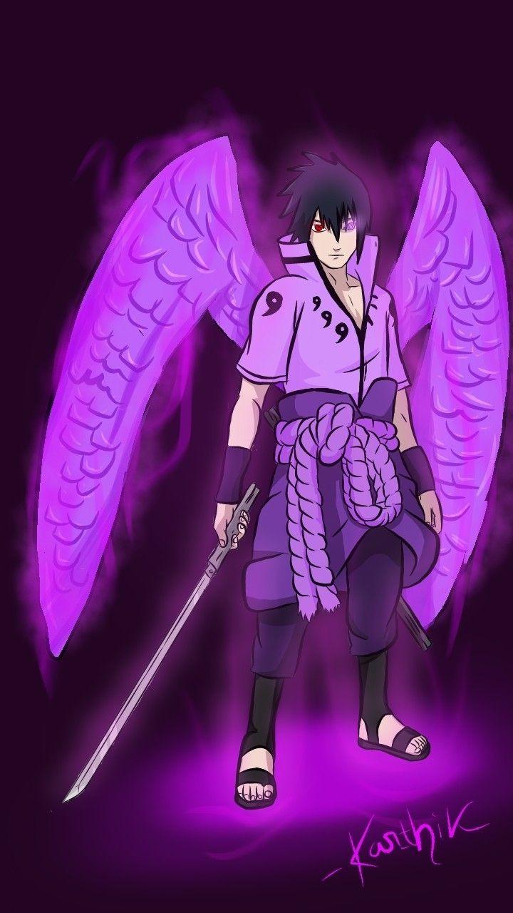 Discover The Coolest Sasuke Uchiha Six Paths Susanoo Mode Fan Art By Me This Is Entirely My Own Art And Naruto Uzumaki Hokage Anime Naruto Naruto And Sasuke