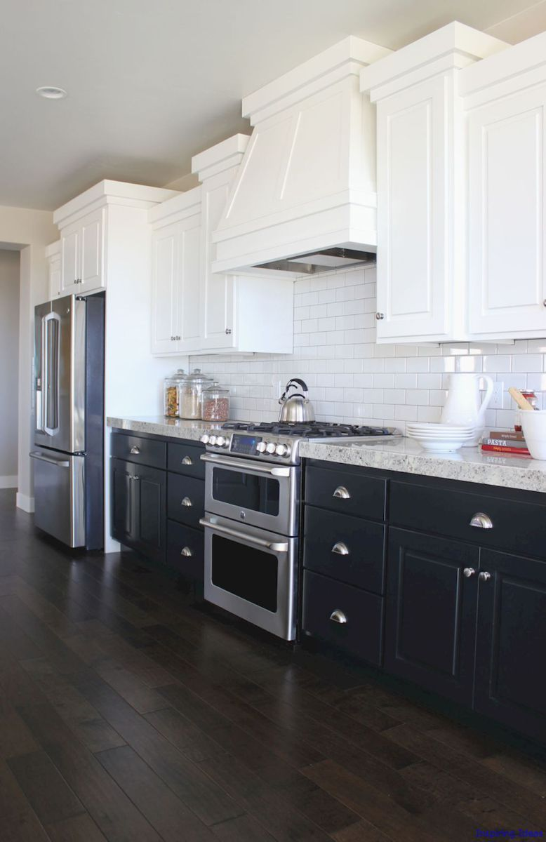 Luxurious Black And White Kitchen Design Ideas 038  Kitchen Interesting White Kitchen Design Ideas Design Decoration