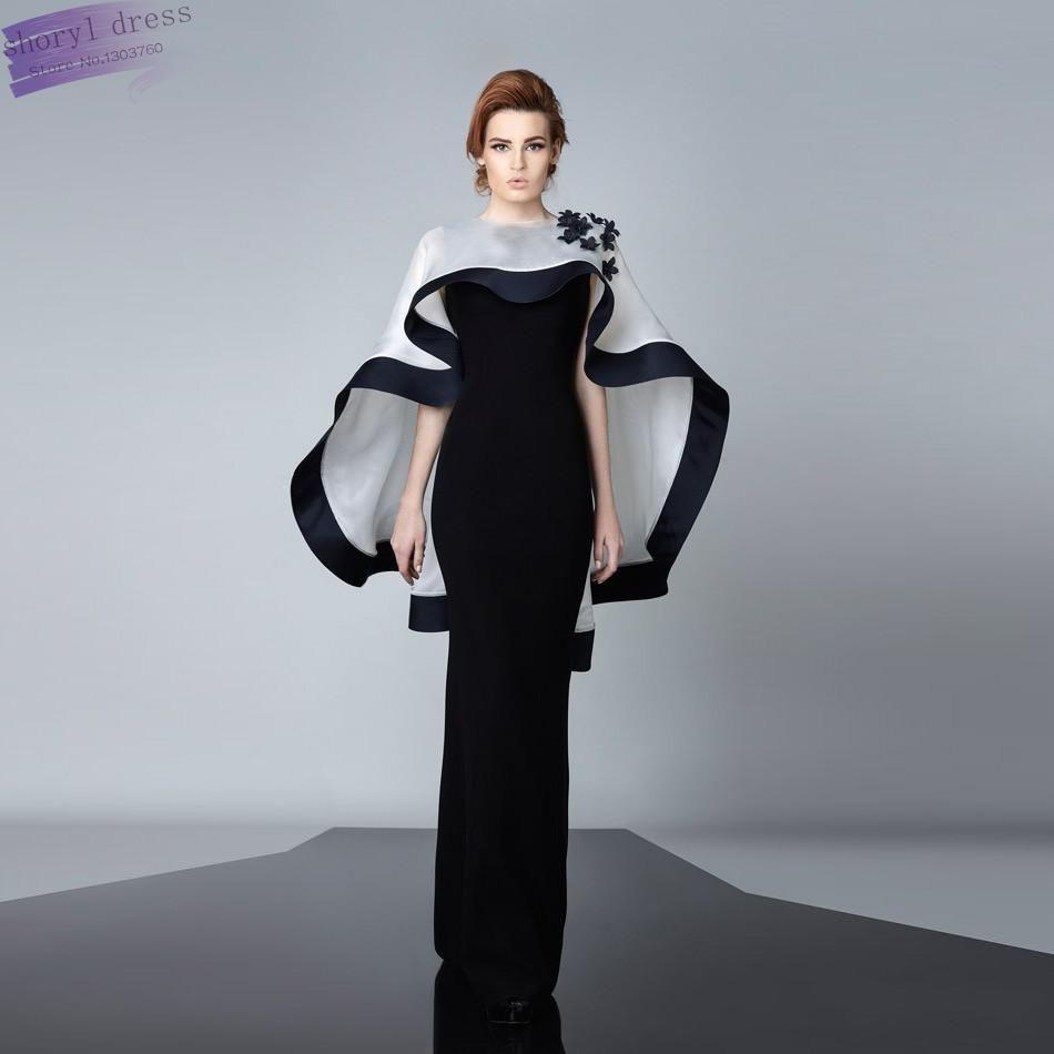 Special Sexy Fashion 2016 Saudi Arabia Evening Dresses Long Black ...