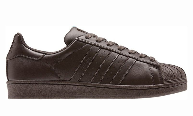 best sneakers c08b0 925bc Vente en ligne disponible Homme Adidas Superstar Pharrell Williams x  Supercolor Pack S chaussures - brown