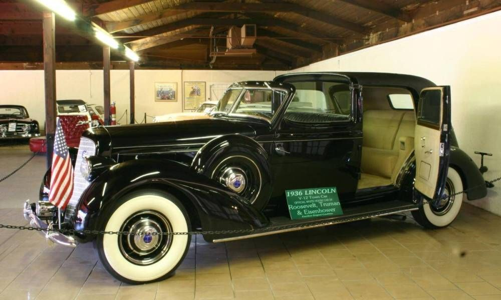 1936 Lincoln Presidential Limousine - Sarasota Classic Car Museum ...