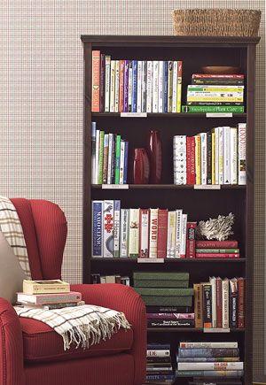 Pretty And Neat Bookshelf