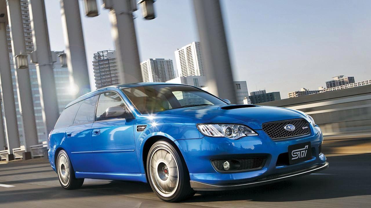 2008 Subaru Legacy STi S402 Wagon