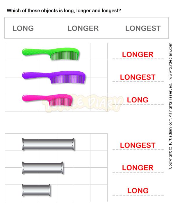 Length Measurement Worksheet14 - math Worksheets - grade-1 ...