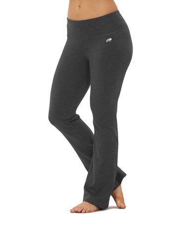 68762ca618d2b Look at this #zulilyfind! Heather Charcoal Tummy-Control Yoga Pants by  Marika Magic by Marika #zulilyfinds