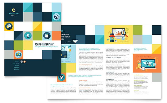 advertising company brochure design template by stocklayouts