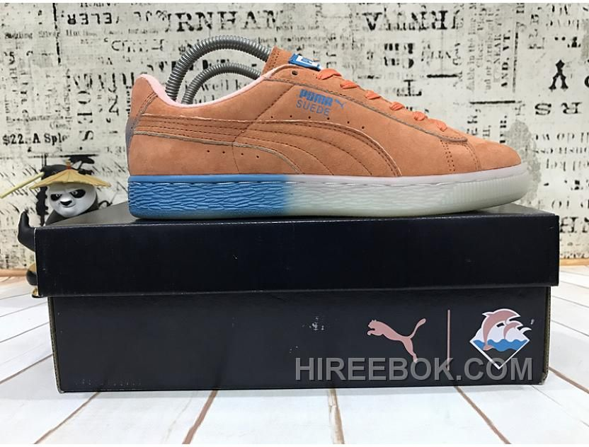 Puma X Pink Dolphin Suede Capsule Collection Women Men Best