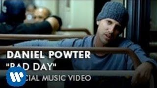 Daniel Powter Bad Day Official Music Video Youtube Daniel Powter Bad Day Music Videos Youtube Videos Music