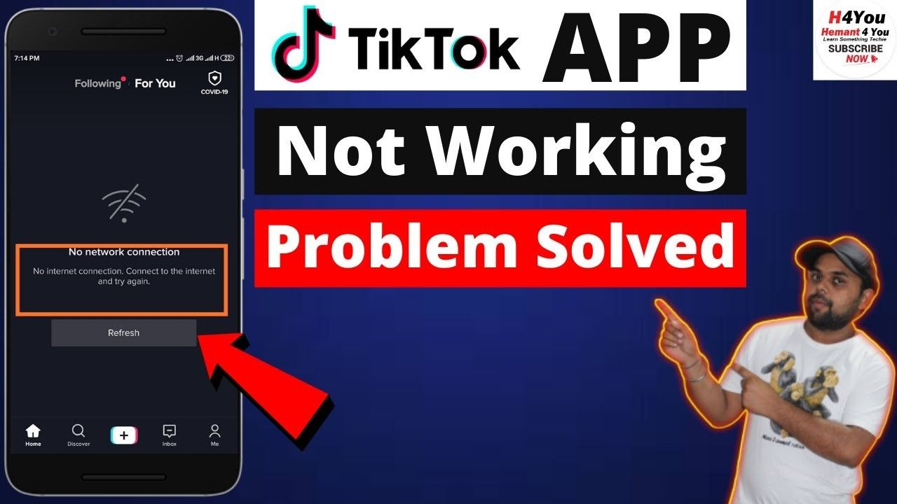 Tiktok App Not Working How To Fix Tiktok Not Working Issue 2020 Hindi Problem Solved Cellular Network Fix It