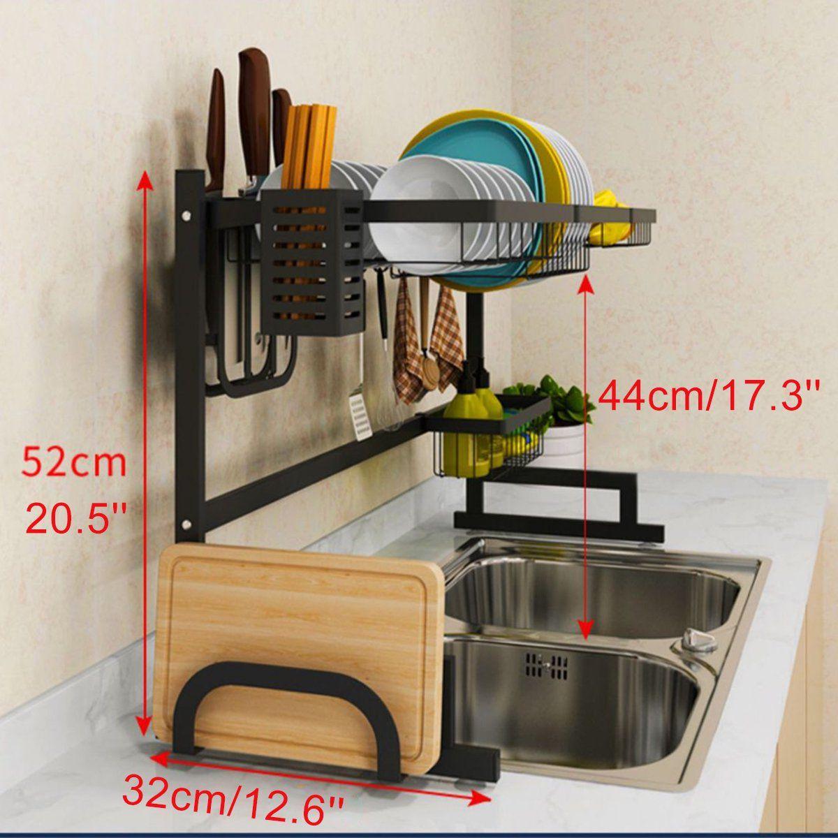 how to measure kitchen sink strainer basket