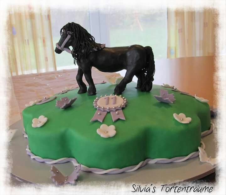silvia 39 s tortentr ume pferd torte cake kindergeburtstag. Black Bedroom Furniture Sets. Home Design Ideas