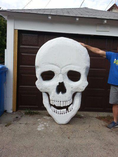 Giant Skeleton Halloween Decoration | Halloween skeleton ...