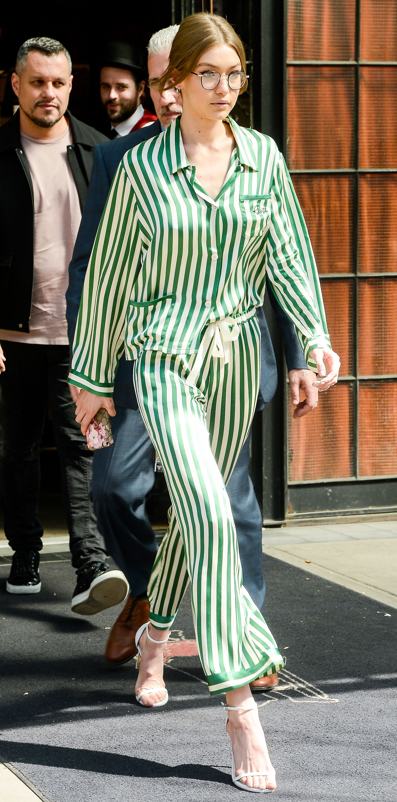 We're obsessed with Gigi Hadid's pajamas.