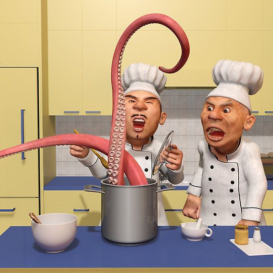 Too Many Cooks New Series The Food Strikes Back Humorous