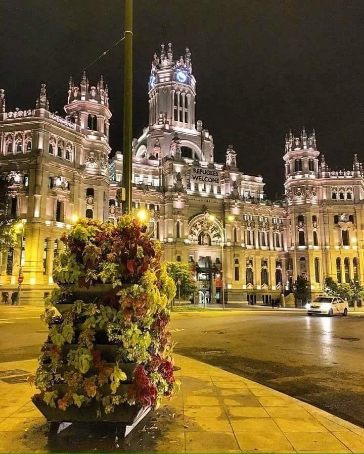 Palacio de cibeles madrid madrid en 2019 madrid for Lugares turisticos de espana madrid
