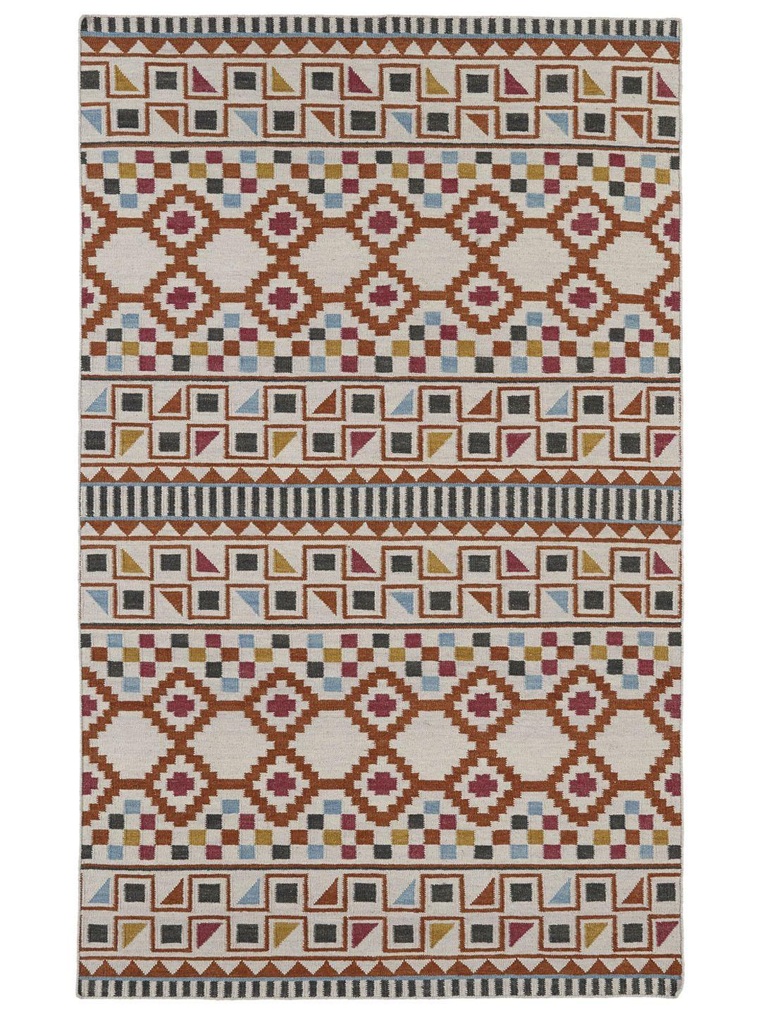 Bath nomad flatweave rug by kaleen at gilt