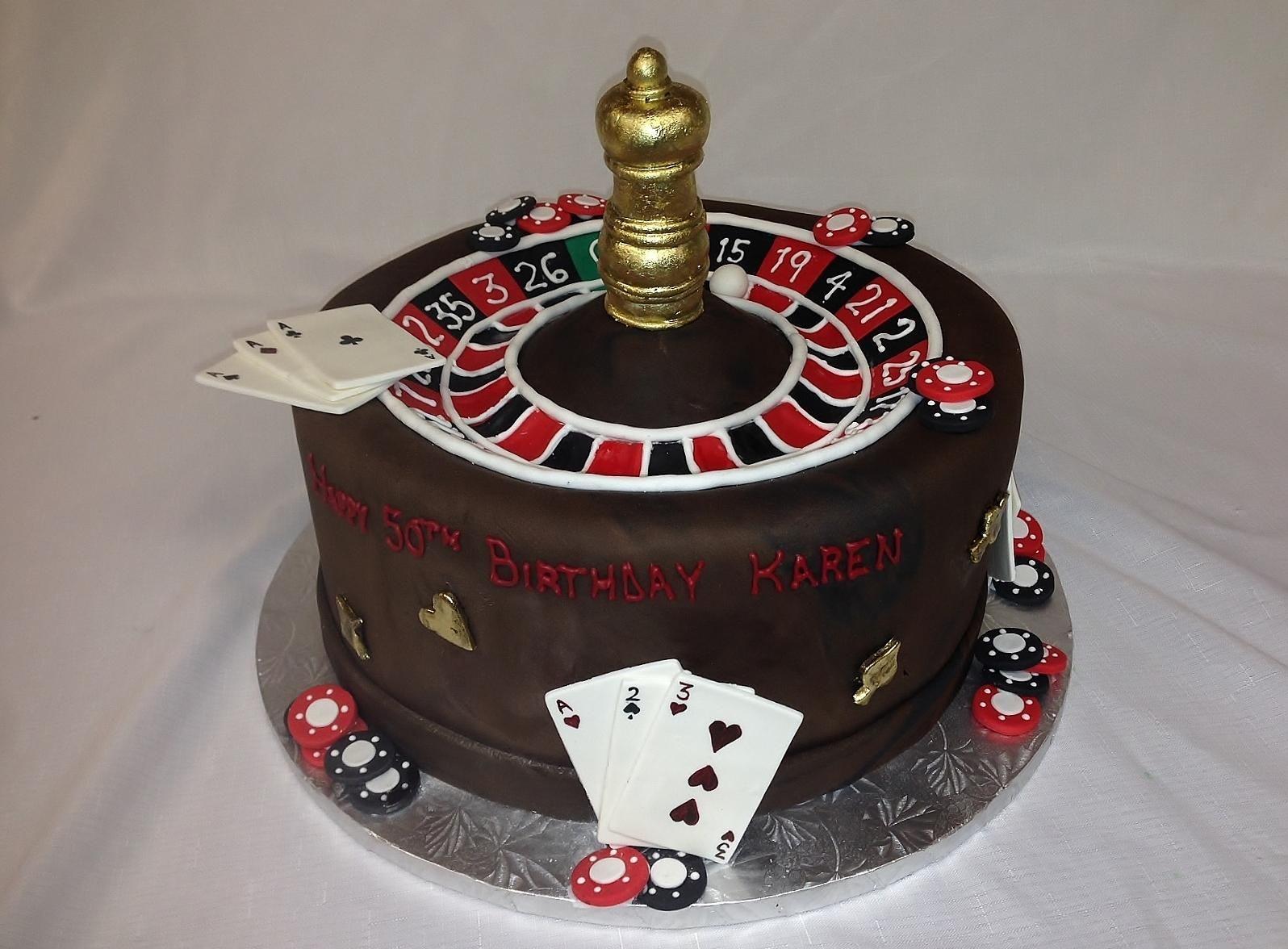 Gateau theme casino
