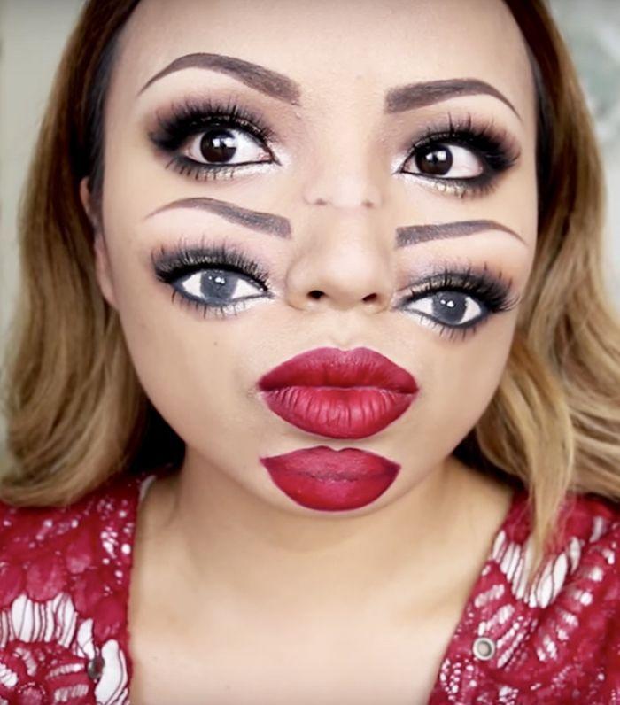 this trippy halloween makeup tutorial will blow your mind via byrdiebeautyuk