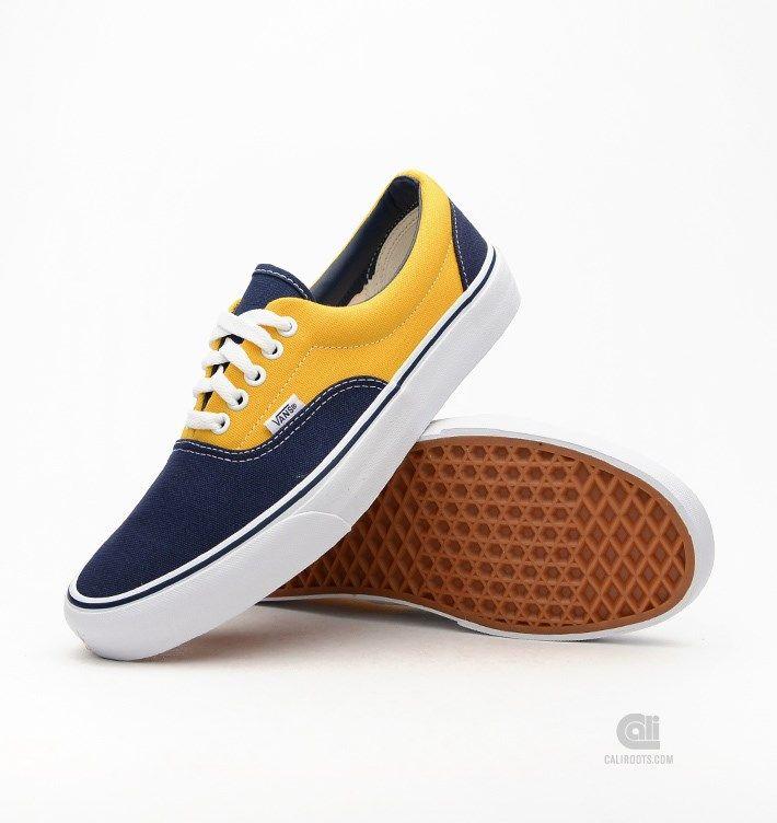 vans blauw geel