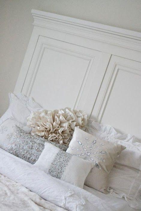 King Panel Headboard Furniture Plans White Headboard Home Bedroom