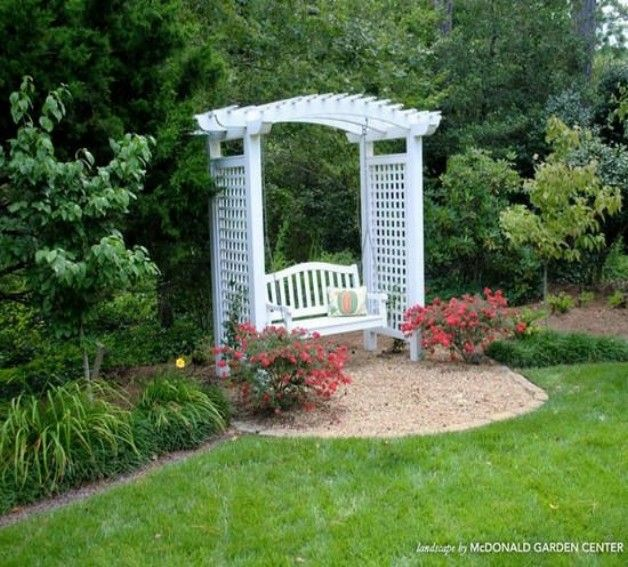Pergola Arbor Swing Set Plans - Pergola With Swing Outdoor Spaces Pinterest Pergolas, Swings