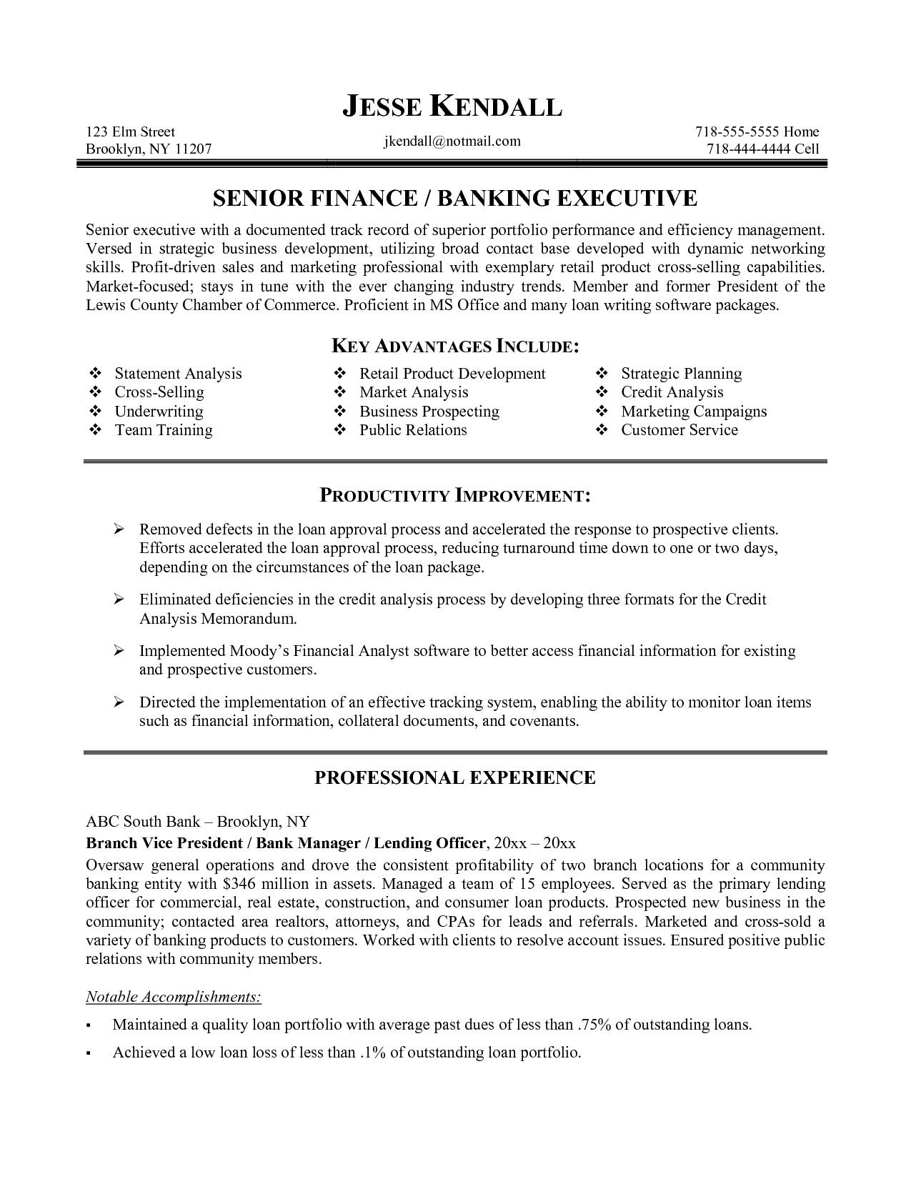 Sle Resume Format For Banking Sector 28 Images Sle News To Gow