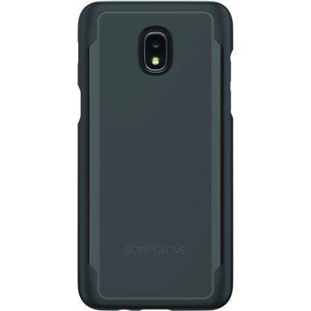 Mundaze Metallic Shield Kickstand Case for Samsung Galaxy J3 Emerge
