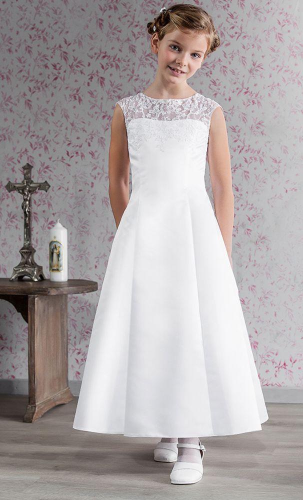 ee7dc7594d1 Sophisticated Communion Dress Emmerling 70139 - Age 8 years 10 Years - 1st  Communion dress - Girls Communion Dress Shop Ascot Emmerling First