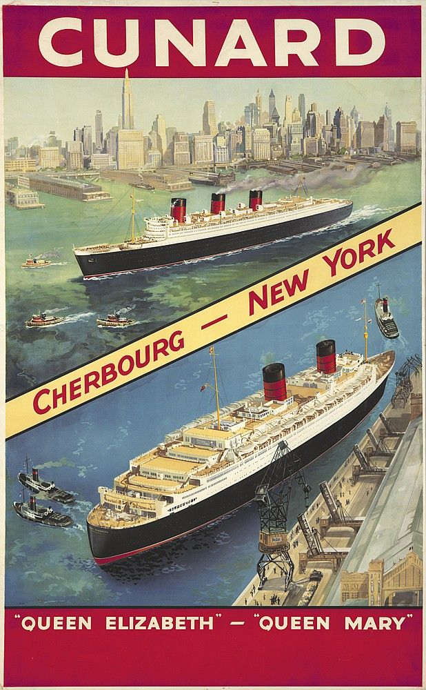 After World War II, the Cunard Line was finally able to put both the Queen Mary and the Queen Elizabeth into service. Although the Queen Mary was christened in May of 1936, she left Great Britain in 1940 without a single passenger in order to escape the potential devastation of German bombing; her maiden voyage with paying clientele arrived in October 1946. The war decimated rival lines and left Atlantic dominance to Cunard, something they would not relinquish until air travel became…