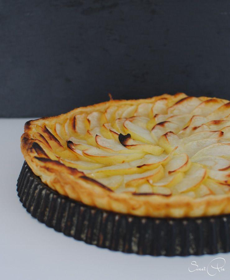 [Gastbeitrag] Apfel Blätterteig Tarte von Sweetpie - Law of Baking