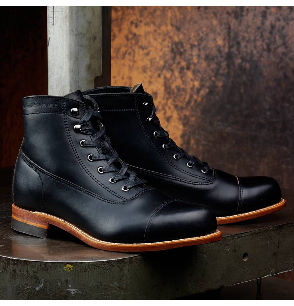 6decf7a204a Wolverine Rockford 1000 Mile Cap-Toe | My Style | Shoes, High ...