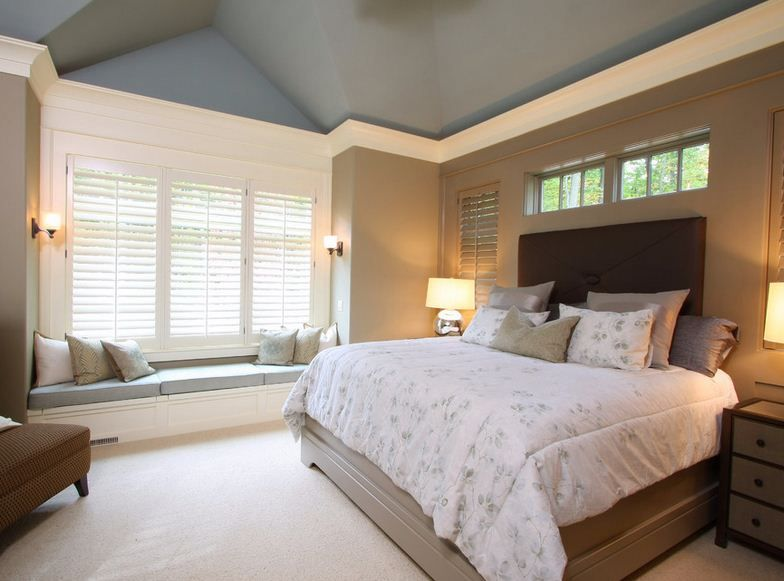Vaulted Tray Ceiling: Painted Vaulted Ceilings: What