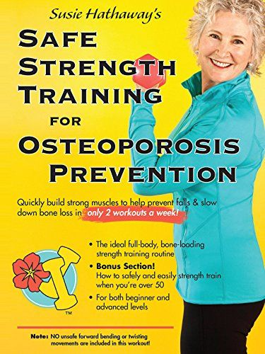 18++ Strength training for osteoporosis prevention info