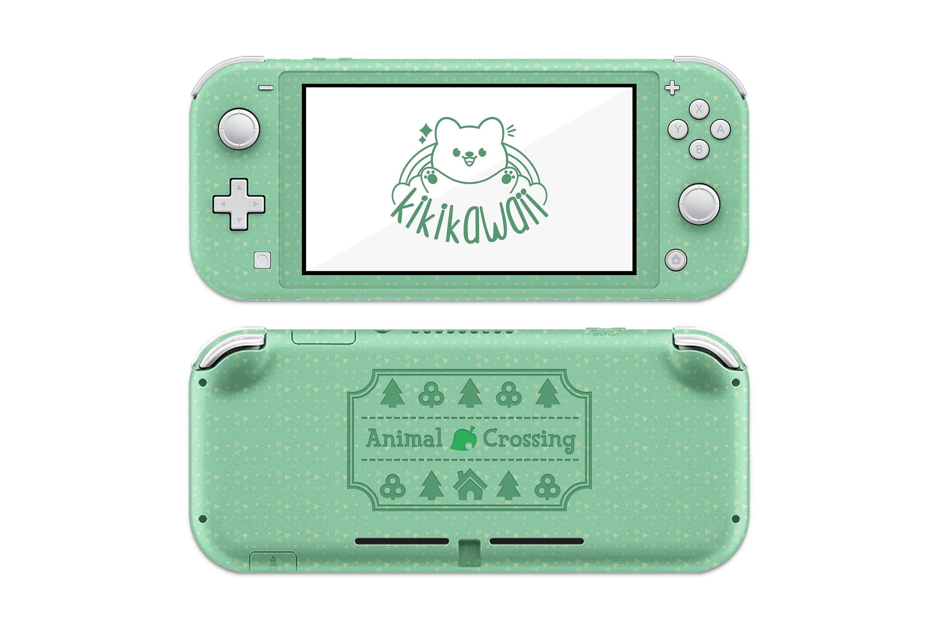 animal crossing nintendo switch lite skin