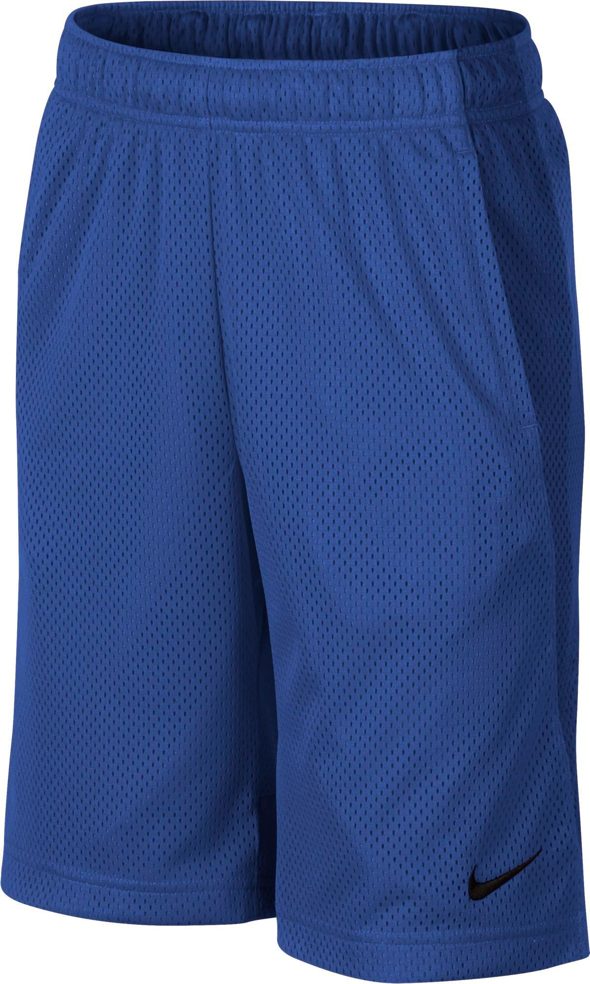 Nike boys monster mesh shorts size xs blue in 2020