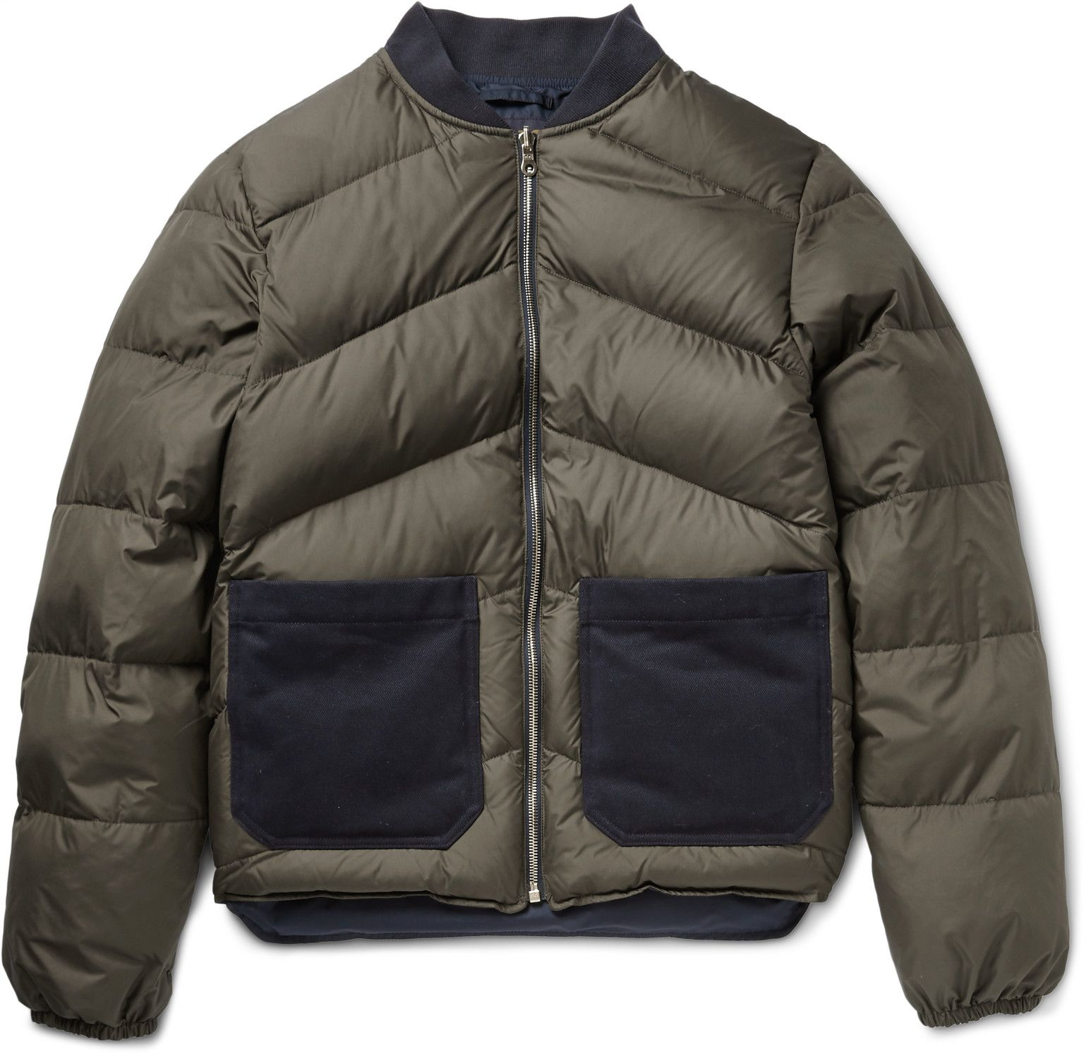 The Workers Club Reversible Cotton Drill Trimmed Quilted Down Bomber Jacket Quilted Jacket Men Mens Jackets Quilted Jacket [ 1493 x 1536 Pixel ]